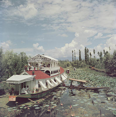 India Photograph - Jhelum River by Slim Aarons