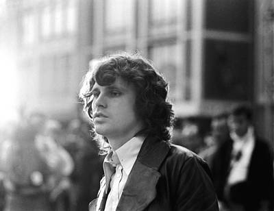 Photograph - Jim Morrison by Michael Ochs Archives