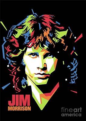 Jim Morrison Popart Original