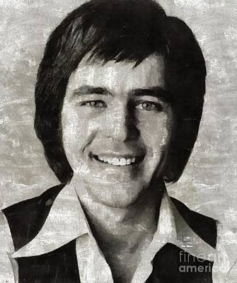 Music Paintings - Jim Stafford, Music Legend by Esoterica Art Agency