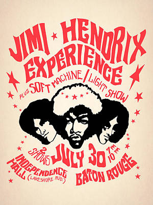 Jimi Hendrix Wall Art - Photograph - Jimi Hendrix Experience by Mark Rogan