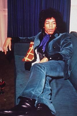 Photograph - Jimi Hendrix by Hulton Archive