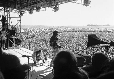 Photograph - Jimi Hendrixs Last Concert by Michael Ochs Archives
