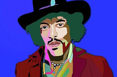 Photograph - Jimmy Hendrix by Carlos Diaz