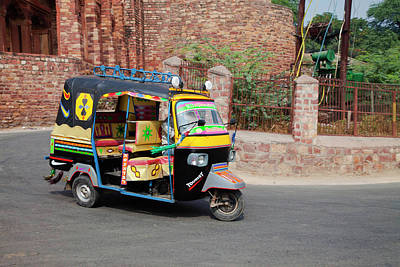 Indian Culture Photograph - Jitney In India by Car Culture