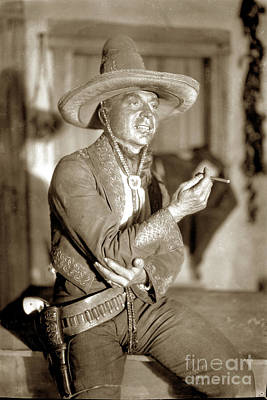 Photograph - Jo More In The Play Bad Man At The Carmel Playhouse In 1928. by California Views Archives Mr Pat Hathaway Archives
