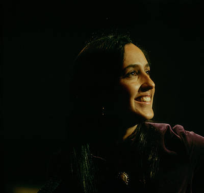 Photograph - Joan Baez Performs On Stage by David Redfern