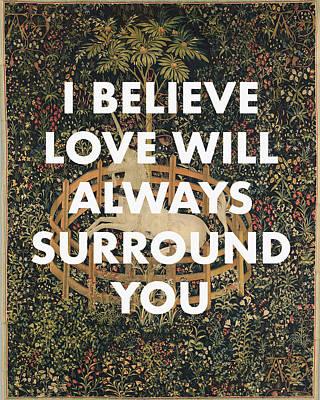 Digital Art - Joanna Newsom Song Lyrics Poster by Georgia Fowler
