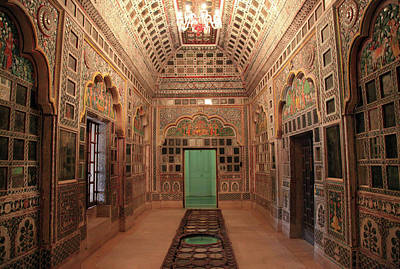 Indoors Photograph - Jodhpur Fort Palace by Milind Torney