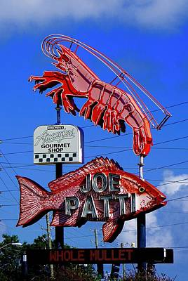 Photograph - Joe Patti, The Place For Seafood by Norma Brock