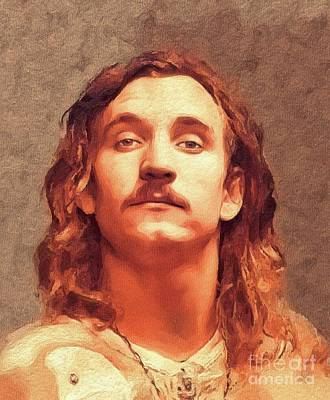 Music Paintings - Joe Walsh, Music Legend by Esoterica Art Agency