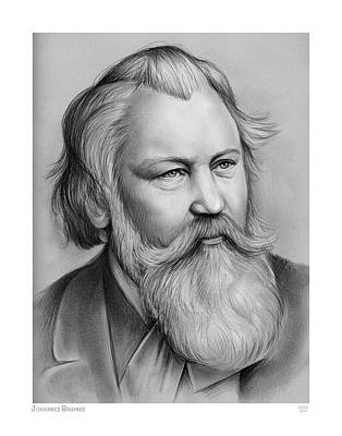 Royalty-Free and Rights-Managed Images - Johannes Brahms by Greg Joens