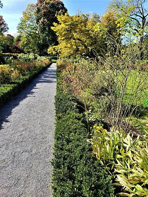 Photograph - John And Abigail Adams Old House Peacefield Garden Fall 2018 by Rob Hans