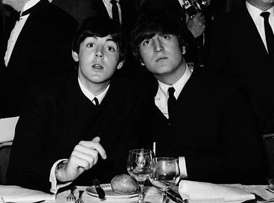 Photograph - John And Paul by William Vanderson
