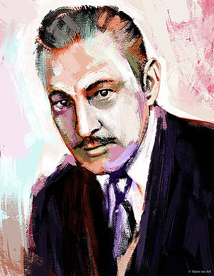Workout Plan - John Barrymore painting by Stars on Art