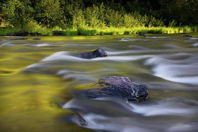 Photograph - John Day River Light by Leland D Howard