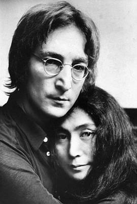 New York City Photograph - John Lennon And Yoko Ono by New York Daily News Archive