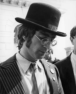 Beatles Photograph - John Lennon During The Filming Of by Keystone-france
