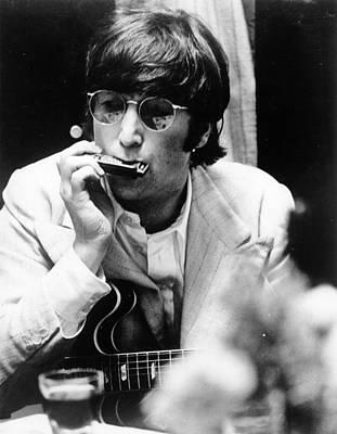 Beatles Photograph - John Lennon by Robert Whitaker
