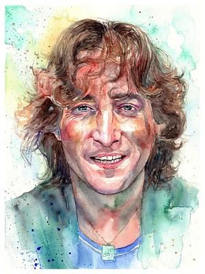 John Lennon Smiling Original