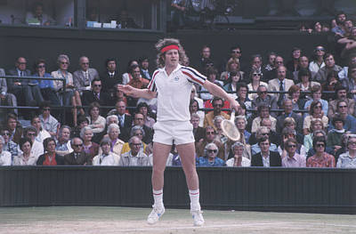 Photograph - John Mcenroe by Fox Photos