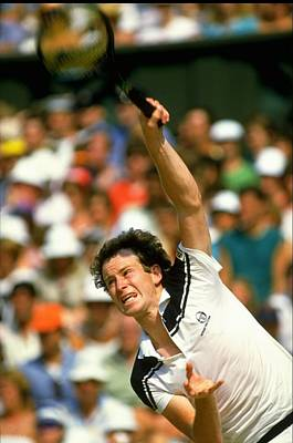 Photograph - John Mcenroe by Getty Images