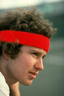 Photograph - John Mcenroe Of The Usa by Tony Duffy