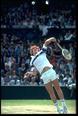 Photograph - John Mcenroe Usa Wimbledon by Steve Powell
