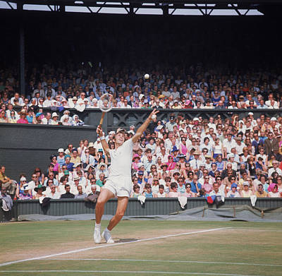 Photograph - John Newcombe by Fox Photos