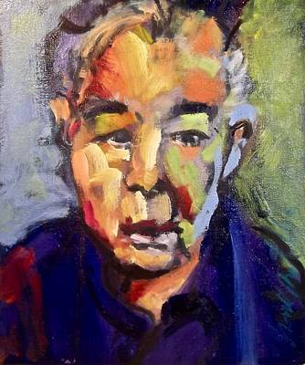 Painting - John Prine by Les Leffingwell