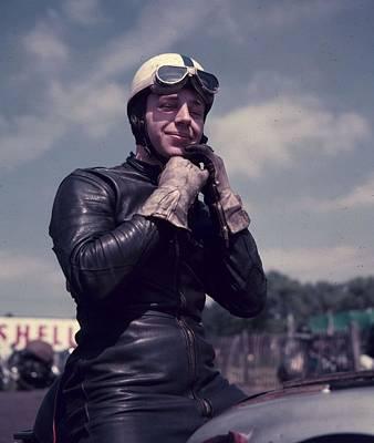 Photograph - John Surtees by Baron