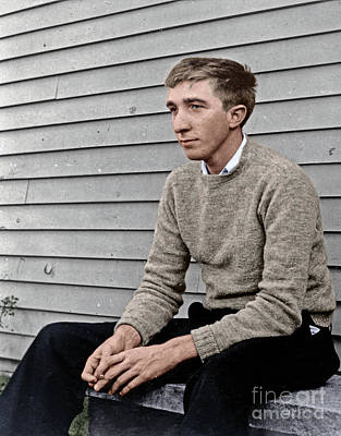 Photograph - John Updike by Granger