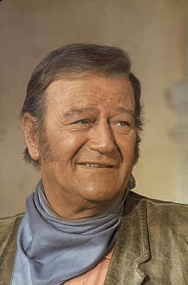 Photograph - John Wayne In The Undefeated by John Dominis