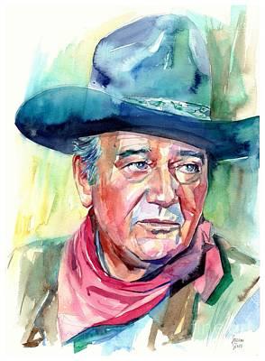 John Wayne Portrait Original