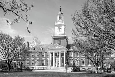 Photograph - Johns Hopkins University Gilman Hall  by University Icons
