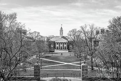 Photograph - Johns Hopkins University Shriver Hall by University Icons