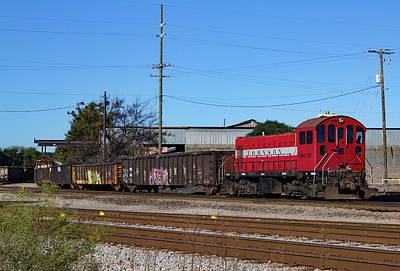 Photograph - Johnson Railway Services Alco S2 2014 Color by Joseph C Hinson Photography