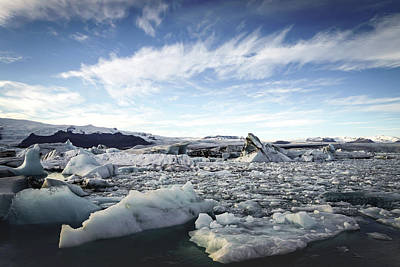 Photograph - Jokulsarlon by Framing Places