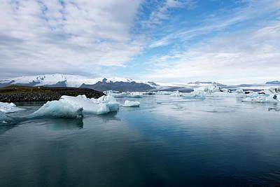 Photograph - Jokulsarlon Glacier Lagoon And Icebergs by RicardMN Photography