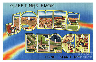 Photograph - Jones Beach Greetings by Mark Miller