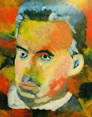 Painting - Jordan Peterson by Christina Schott