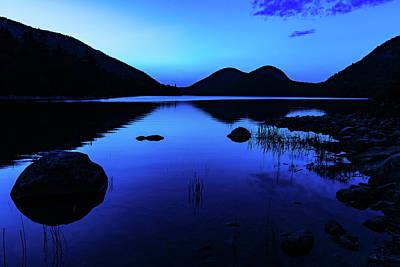 Photograph - Jordan Pond At Nightfall by Stefan Mazzola