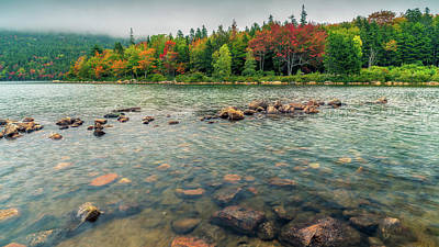 Photograph - Jordan Pond by James Billings