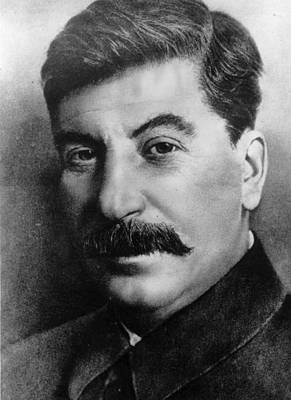 Photograph - Josef Stalin by Hulton Archive