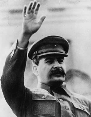 Photograph - Josef Stalin by Keystone