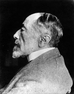 Joseph Conrad Art Print by Spicer-simson