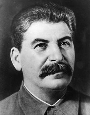 Joseph Stalin Art Print by Fox Photos