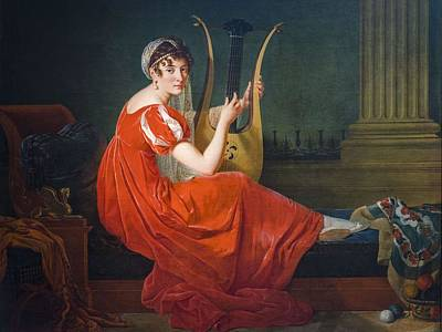 Painting - Josephine Budayevskaya By Mme Riviere 1806 by Mme Riviere