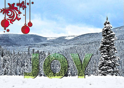 Digital Art - Joy by Susan Kinney