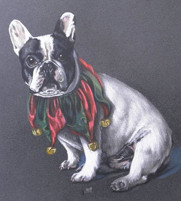 Pastel - Joyeux Noel by Barbara Keith